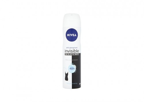 NIVEA Antiperspirant Deodorant Black & White Pure Review