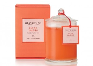 Glasshouse Triple Scented Candles - Passionfruit & Lime