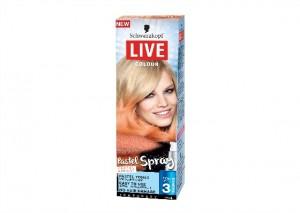 Schwarzkopf Live Colour Pastel Spray - Apricot Sunrise Review