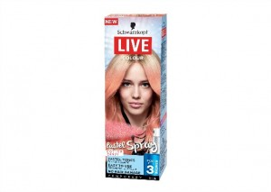 Schwarzkopf Live Colour Pastel Spray - Cotton Candy Review