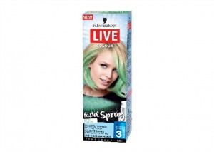 Schwarzkopf Live Colour Pastel Spray - Mint Green Review
