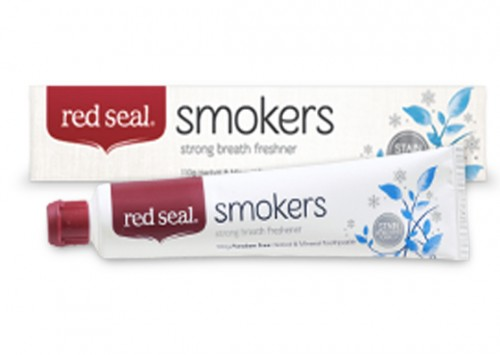 Red Seal Smokers Toothpaste Review