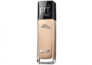 Maybelline Fit Me Foundation Dewy and Smooth Review