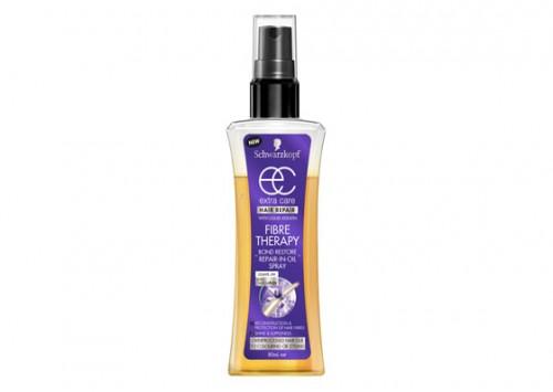 Schwarzkopf Extra Care Fibre Therapy Bond Restore Oil/Spray Review