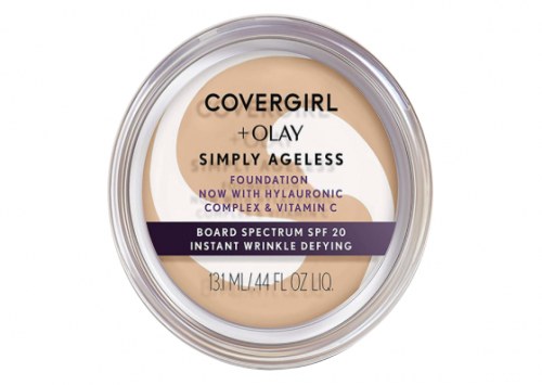 Covergirl + Olay Simply Ageless Instant Wrinkle Defying Foundation (all shades) Review