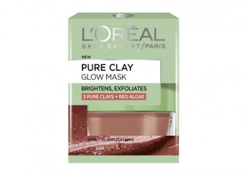 L'Oreal Paris Pure Clay Purifying Red Algae Mask Review