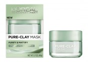 L'Oreal Paris Pure Clay Mask Purify & Mattify Review