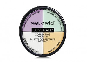 Wet n Wild CoverAll Correcting Palette Color Commentary Review