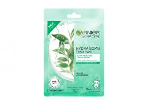 Garnier Hydra Bomb Green Tea Tissue Mask Review