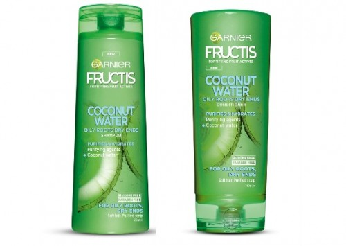 Garnier Fructis Coconut Water Shampoo and Conditioner Review