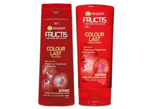 Garnier Fructis Colour Last Shampoo and Conditioner Review