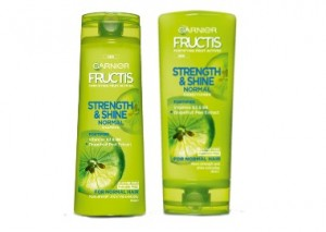 Garnier Fructis Strength and Shine Shampoo and Conditioner Review