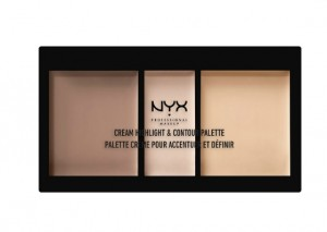 NYX Professional Makeup Cream Highlight/Contour Palette Review