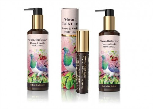 Mmm...That's Nice Cherry and Vanilla Body Care Trio Review