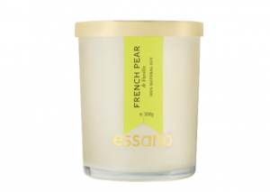 essano French Pear & Vanilla Candle Review
