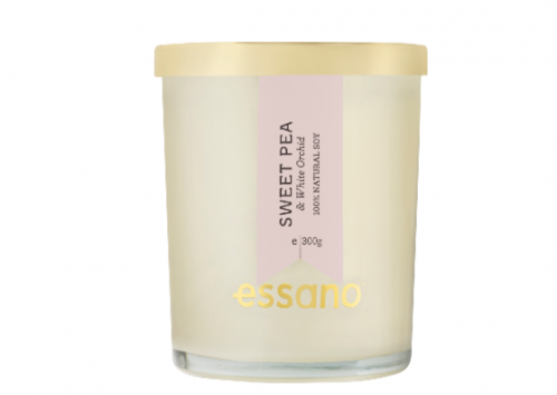 essano Sweet Pea & White Orchid Candle Review