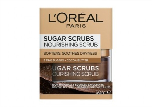 L'Oréal Paris Sugar Scrubs Nourishing Face Scrub Review