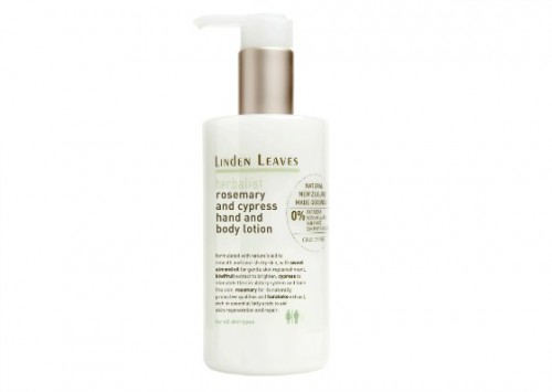 Linden Leaves Rosemary and Cypress Hand and Body Lotion Reviews