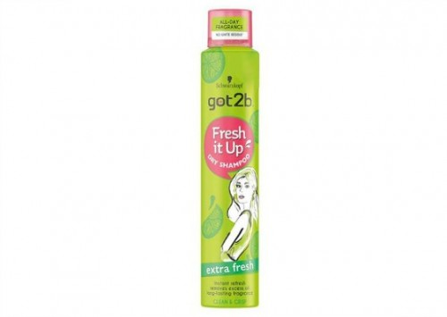 Schwarzkopf got2b Fresh It Up Extra Fresh Dry Shampoo Reviews