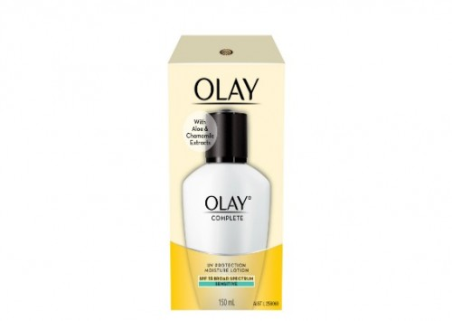 Olay Complete UV Lotion Sensitive Skin SPF15 Reviews