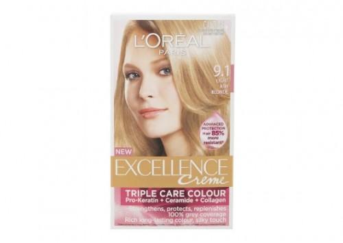 L'Oreal Paris Excellence - Light Ash Blonde 9.1