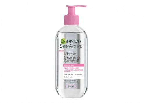 Garnier Skin Active Micellar Gel Wash Review