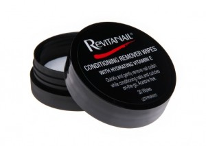 Revitanail Conditioning Remover Wipes Review