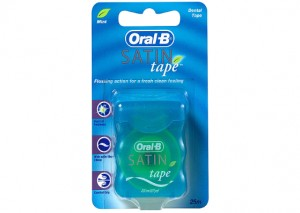 Oral B Dental Floss Satin Mint Tape