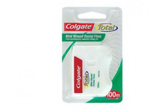 Colgate Dental Floss Waxed Mint