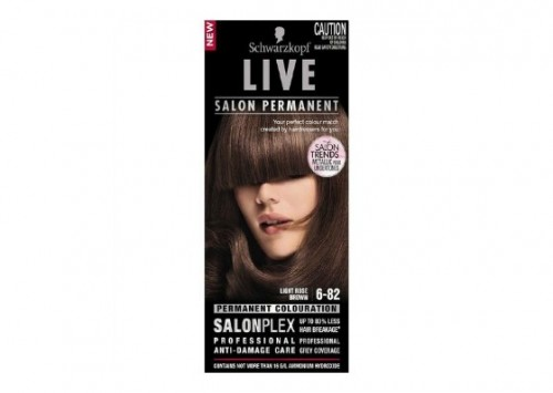 Schwarzkopf Live Salon Permanent - Light Rose Brown Review