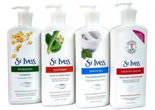 St Ives Body Lotion