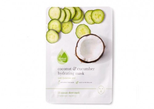 Skinfood Coconut & Cucumber Hydrating Sheet Mask Review