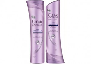 Clear Hair and Scalp Therapy Total Nourishing Shampoo and Conditioner