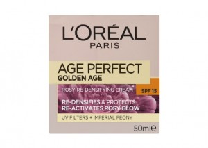 L'Oreal Paris Age Perfect Golden Age SPF15 Day Cream Review