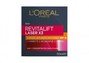 L'Oreal Paris Revitalift Laser X3 SPF15 Day Cream Review