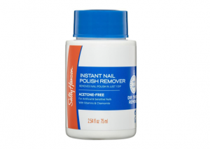Sally Hansen Nail Polish Remover Strengthening Acetone Free - Artificial Nails Reviews