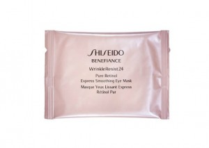 Shiseido Benefiance WrinkleResist24 Pure Retinol Express Smoothing Eye Mask Review