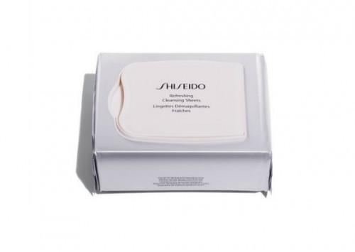 Shiseido Refreshing Cleansing Sheets Review