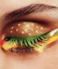 Burger Inspo Eye Make Up :)