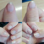 Nails after 3 weeks of Revitanail Strengthener