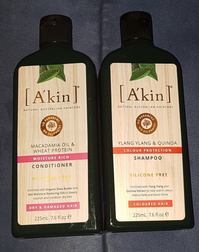 A'kin Shampoo and Conditioner