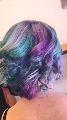 New hair cut/colour