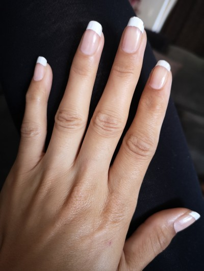 Did my own French mani- save $