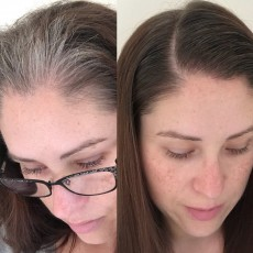 Schwarzkopf Hair Mascara before and after!