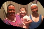 Mask night with my girls