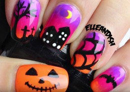 Halloween Nail Art Tutorials