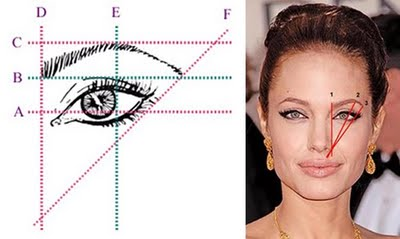 Dont get it wrong the best brow shape for your face 1 inner brow aim to start this in line with the inner corner of your eye ccuart Gallery